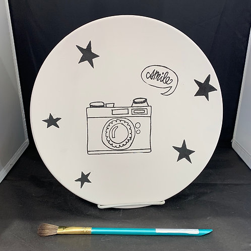Camera Dinner Plate
