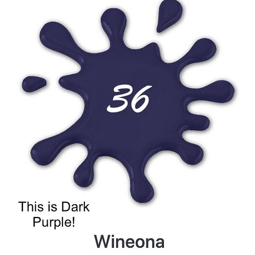 #36 Wineona (Dark Purple)