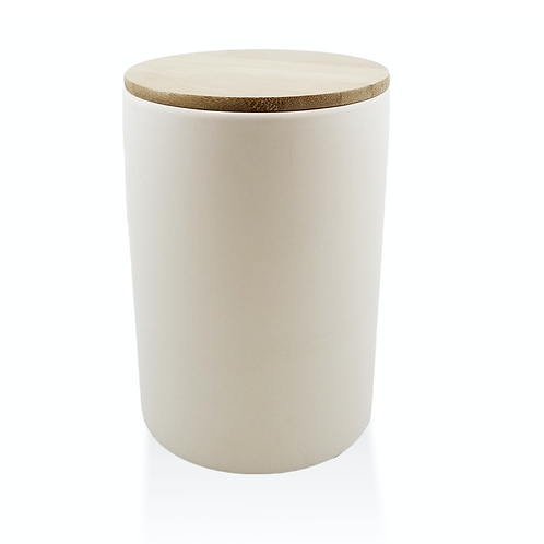 Bamboo Lid Canister