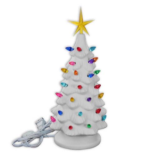"""11"""" Retro Christmas Tree"""