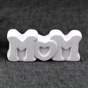 Mom Word Block