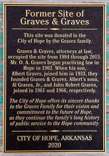 Civic Historical Dedication and Gratitude Plaque