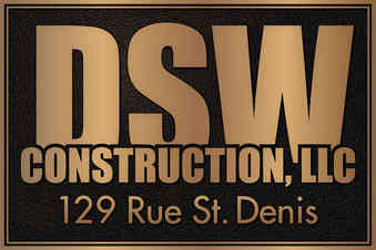 Business Name Outdoor Bronze Plaque