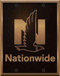 Corporate Logo Bronze Plaque