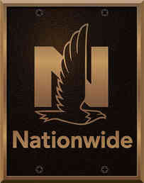 Corporate Logo Bronze Plaque