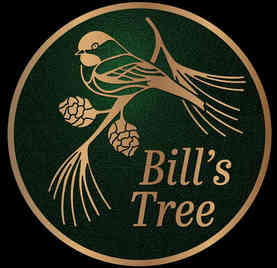Tree Dedication Plaque on Garden Stake