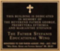 bronze & aluminum church plaques