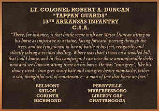 Civil War Military Recognition Plaque