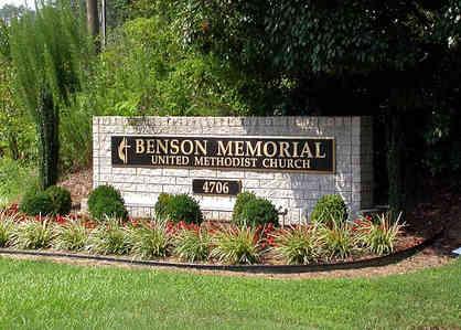Church Entrance & Address Monument Plaques