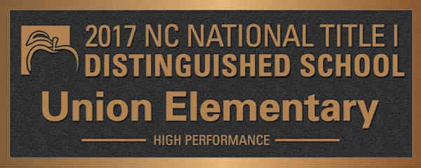 Distinguished School Award Plaque