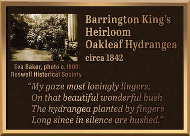 Historical Garden Plaque with Etched Photo and Post Mount