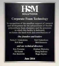Corporate Business Building Dedication Wall Plaque