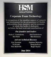 Corporate Business Building Dedication Wall Plaque