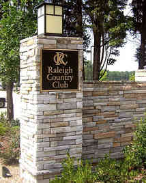Country Club Entrance Plaques