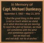 Bronze memorial & remembrance plaque