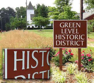 Historic District Identification Plaques