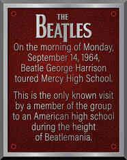 High School Historic Event Plaque