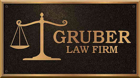 Cast Bronze Law Firm Business Name Plaque