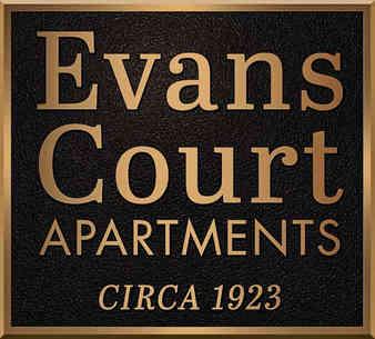 Historic Apartment Entrance Plaque