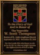 Church Dedication Wall Plaque with Scripture