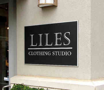 Store Business Name Plaque