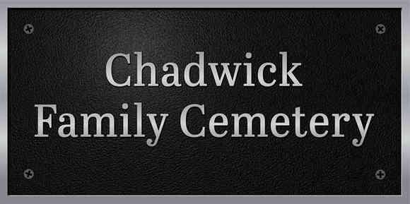 Historical Cemetery Identification Plaque