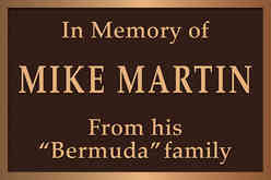 Memorial Garden Plaque for a Friend