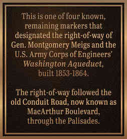 Bronze Historical Marker Plaque