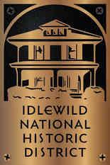 Idlewild Historic District Designation Plaque