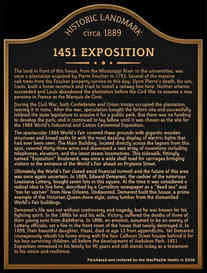 Historic Landmark House Information Plaque