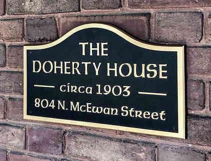Custom Address Plaque for Tudor Style House