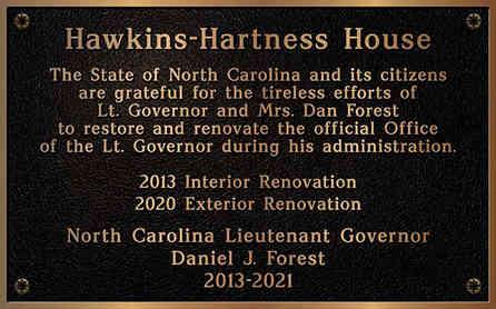 Historic Property Renovation Plaque