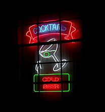 neon window sign