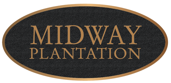 Plantation Bronze Entrance Plaque