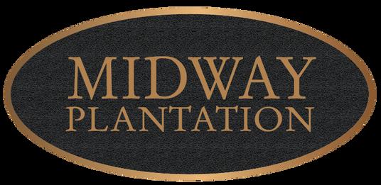 Plantation Bronze Entrance Plaque