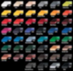 Standard Plaque Background Colors