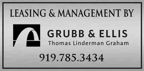 Commericial Building Leasing & Management Plaque