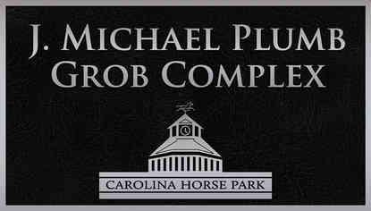 Horse Park Grob Naming Plaque