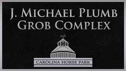 Horse Park Grob Naming Plaque