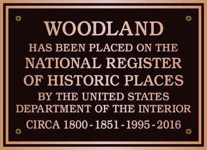 National Register Entrance Plaque