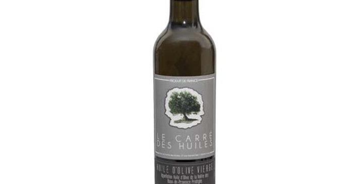 Huile d'Olive AOP de la Vallée des Baux-Fruité noir