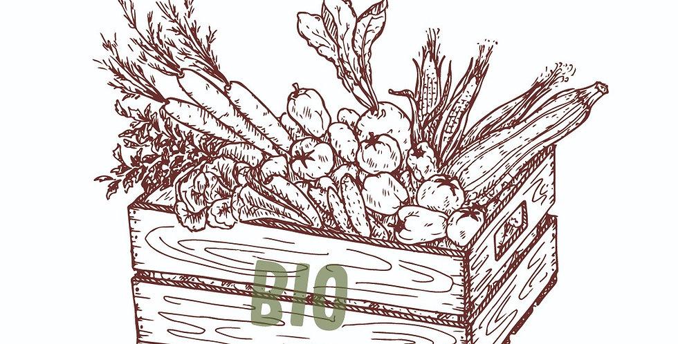 PANIER de fruits et légumes BIO