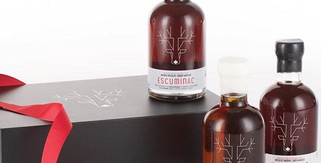 Coffret Escuminac - 3 bouteilles