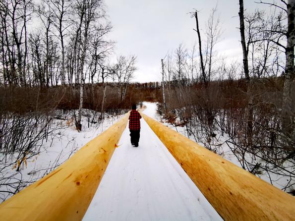 Tipi Pole Walk