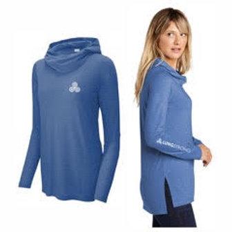 Women's Sport-Tek Wicking Long Sleeve Hoodie