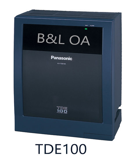 KX-TDE100BX (Digital Hybrid IP PBX) Max. 64 Extensions