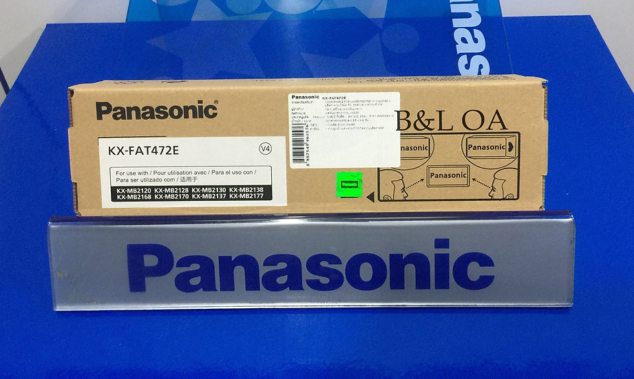 KX-FAT472E Panasonic Laser Toner ผงหมึกเลเซอร์แฟกซ์