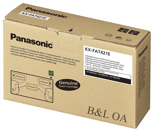KX-FAT421E Panasonic Laser Toner ผงหมึกแฟกซ์เลเซอร์