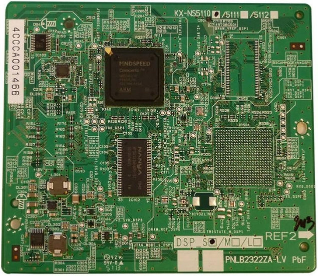 KX-NS0110X  VOIP DSP Card (Size S) forKX-NS1000