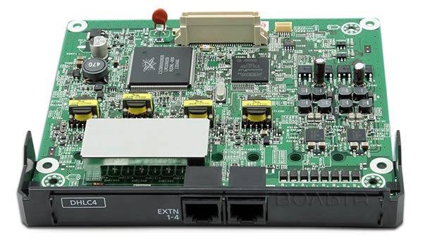 KX-NS5170X  แผงขยาย 4 สายในแบบไฮบริด, 4 Ports Hybrid Extension